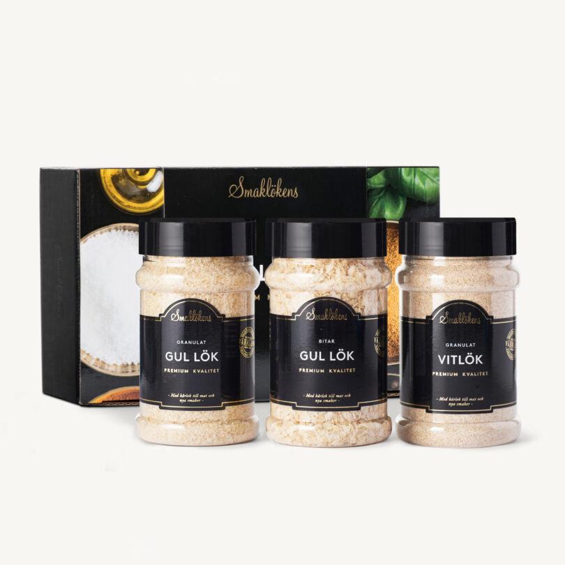 Smaklöken Lökmix Presentförpackning 3-Pack 330ml