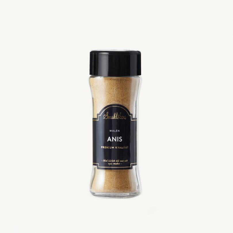 Smaklökens Kryddor Anis Malen, 55 g, 120 ml