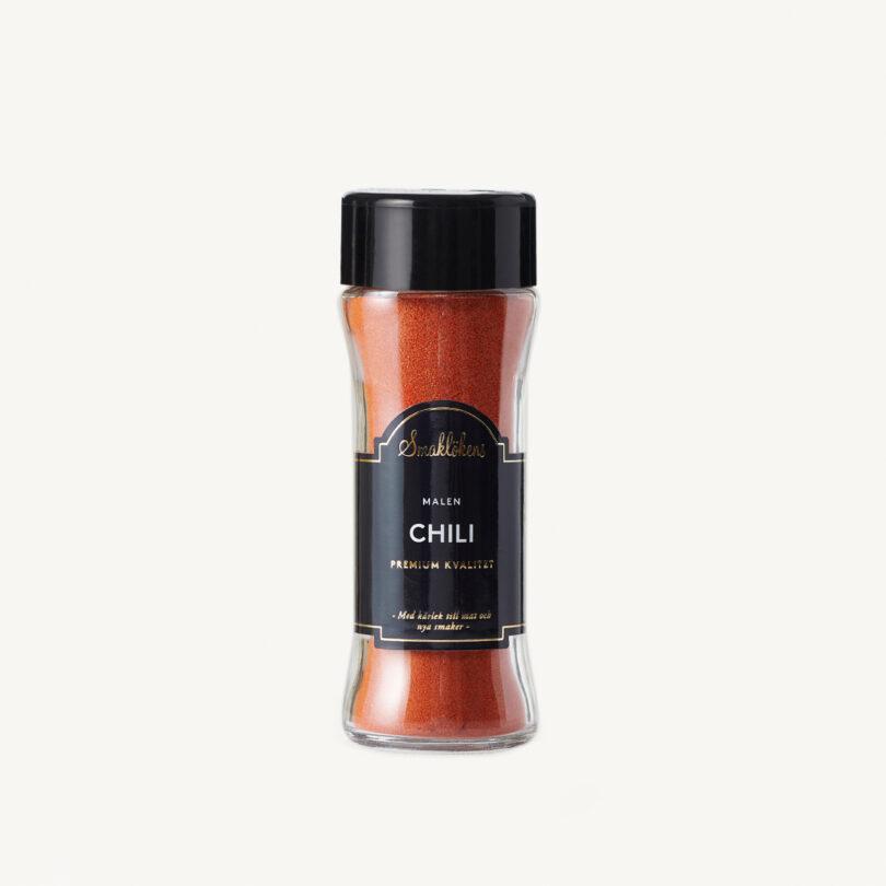 Smaklökens Kryddor Chili Malen 55 g, 120 ml