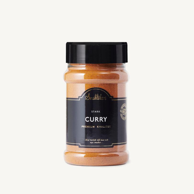 Smaklökens Kryddor Curry Stark, 200 g, 330 ml