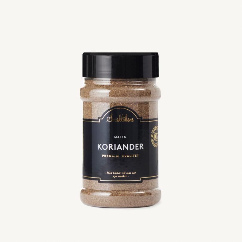 Smaklökens Kryddor Koriander Malen, 150 g, 330 ml