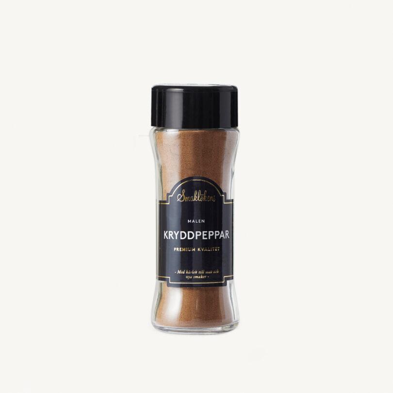 Smaklökens Kryddor Kryddpeppar Malen, 60 g, 120 ml