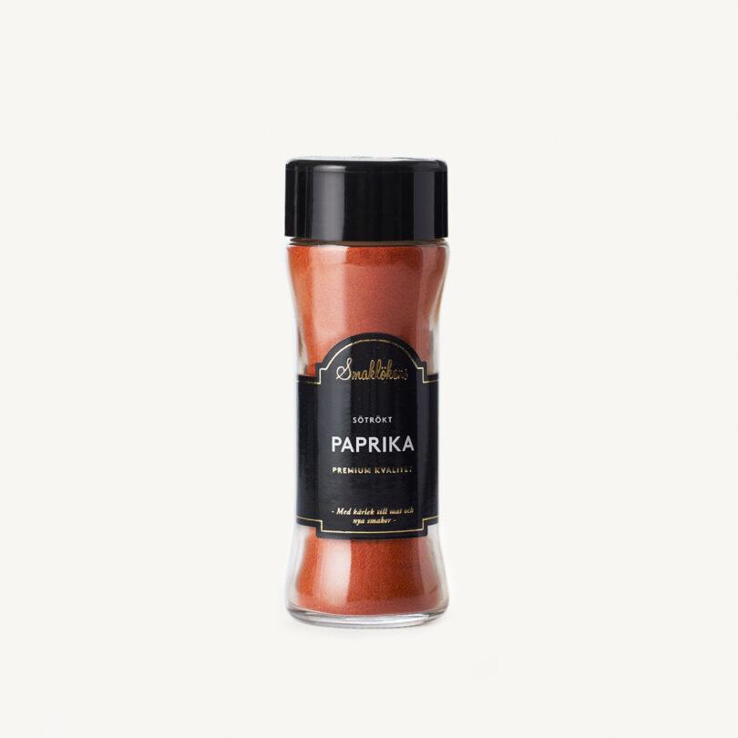 Smaklökens Kryddor Paprika Sötrökt, 60 g, 120 ml