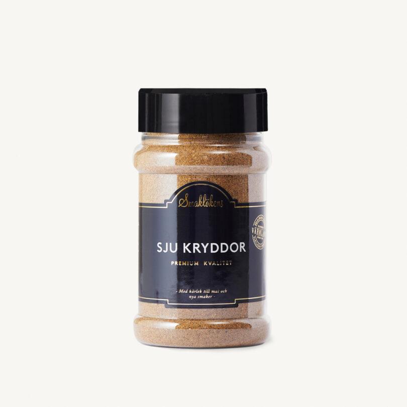 Smaklökens Kryddor Sju Kryddor, 180 g, 330 ml