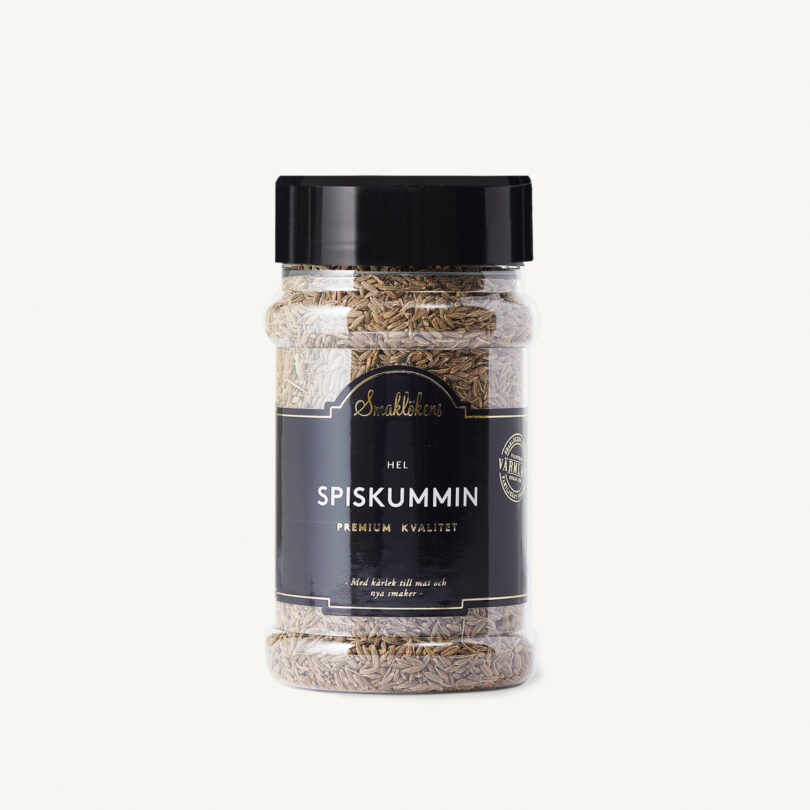 Smaklökens Kryddor SpiskumminHel, 140 g, 330 ml