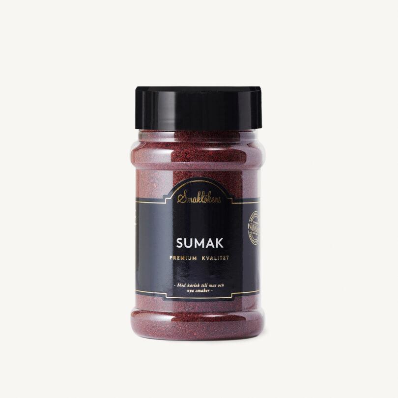Smaklökens Kryddor Sumak Malen, 170 g, 330 ml