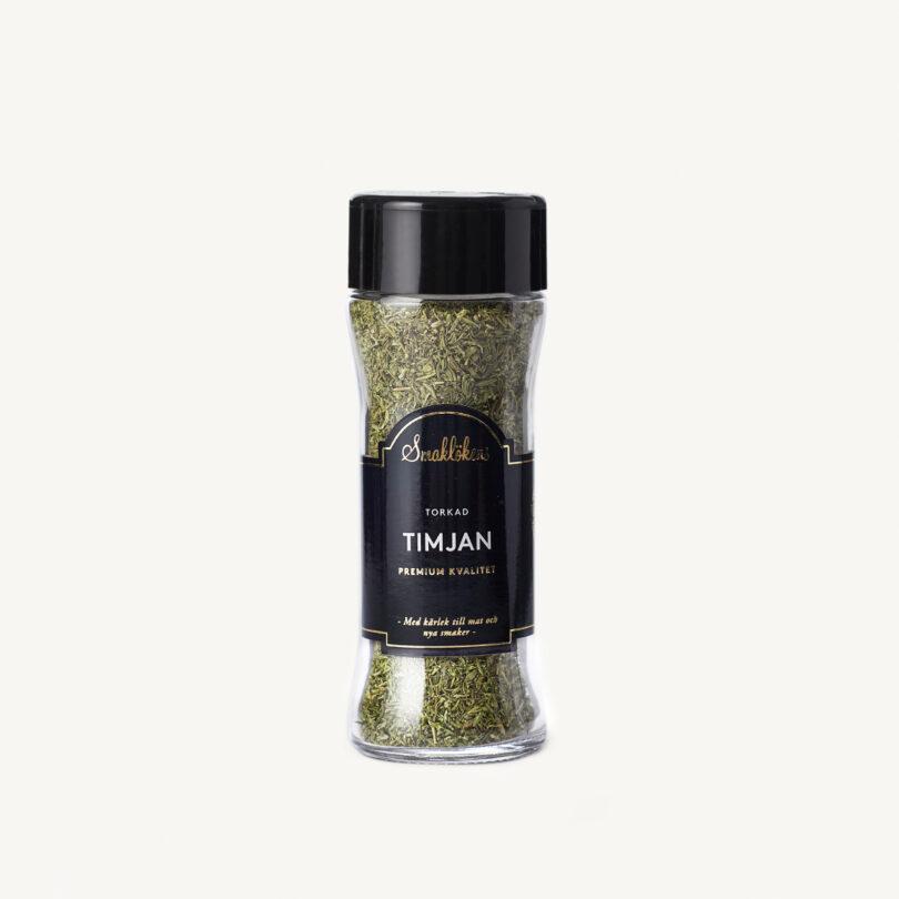 Smaklökens Kryddor Timjan Torkad. 30 g, 120 ml