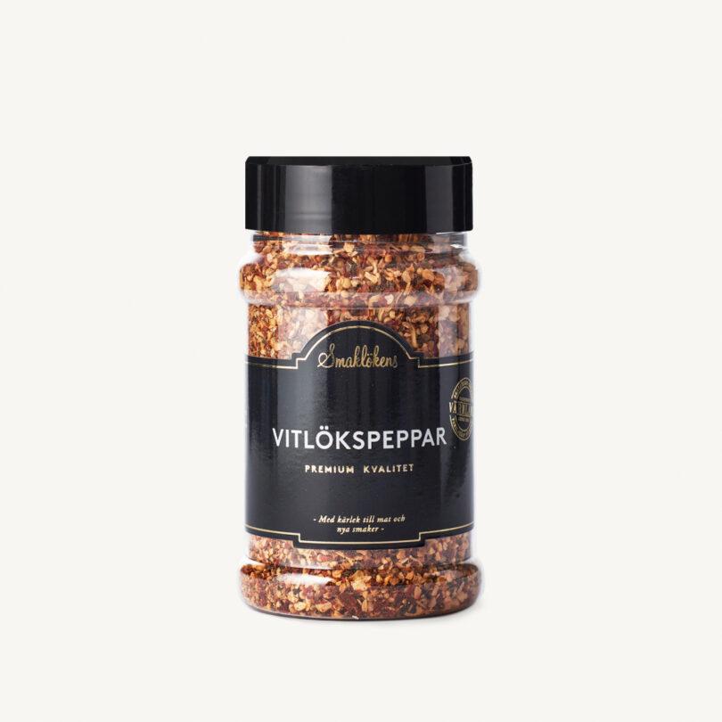 Smaklökens Kryddor Vitlökspeppar 190 g, 330 ml