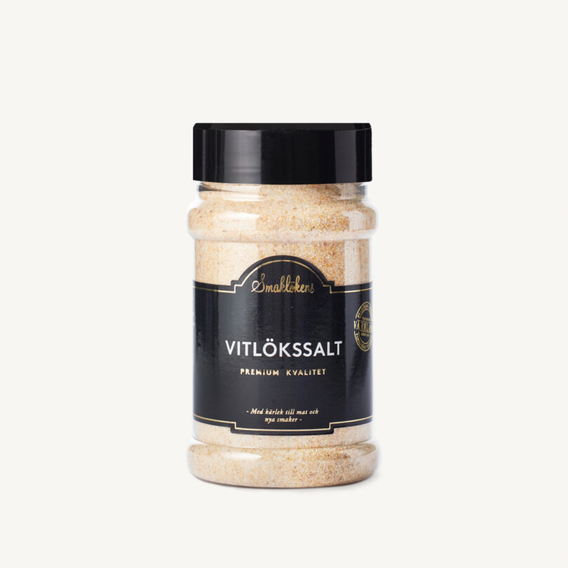 Smaklökens Kryddor Vitlökssalt, 390 g, 330 ml