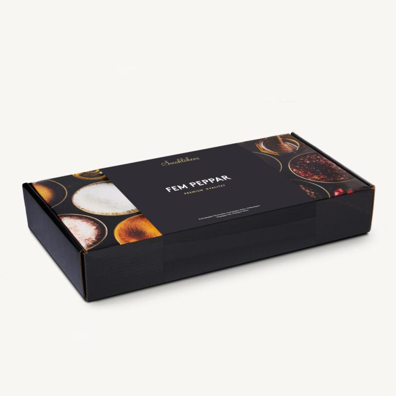 Smaklöken Fem Peppar Presentförpackning 5-Pack 120ml