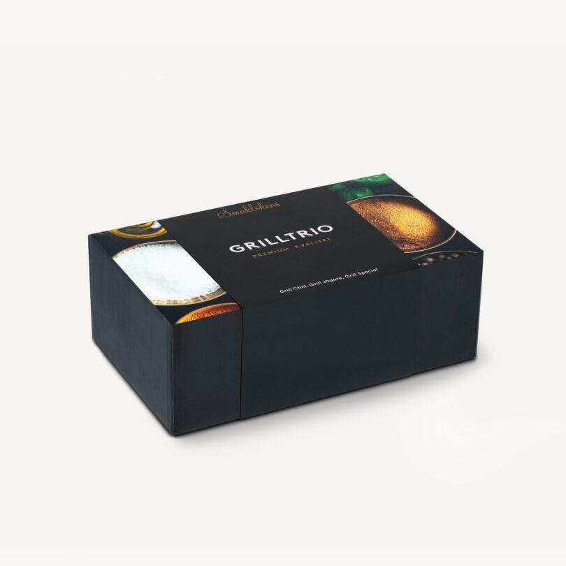 Smaklöken Grilltrio Presentförpackning 3-pack 330ml