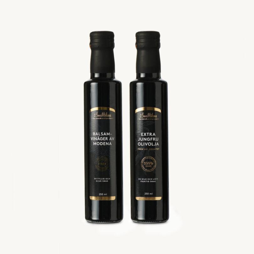 Smaklöken Balsamvinäger Olivolja Extra Jungfru Olivolja 250ml Presentförpackning