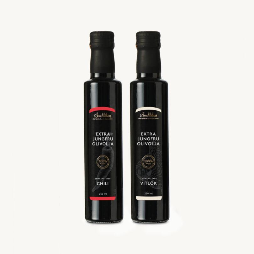 Smaklöken Olivolja Chili Vitlök 250ml Presentförpackning