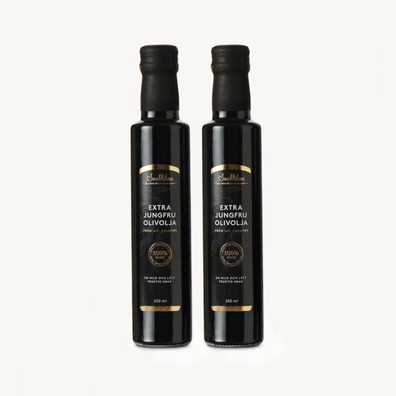 Smaklöken Extra Jungfru Olivolja X2 250ml Presentförpackning