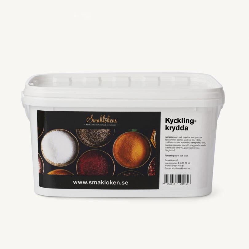 smaklökens-kryddor-kycklingkrydda-5liter-hink-storpack-företag